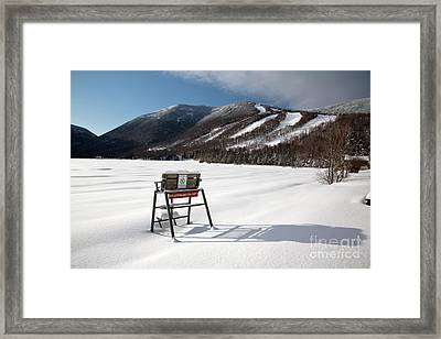 Cannon Mountain - White Mountains New Hampshire Usa Framed Print by Erin Paul Donovan