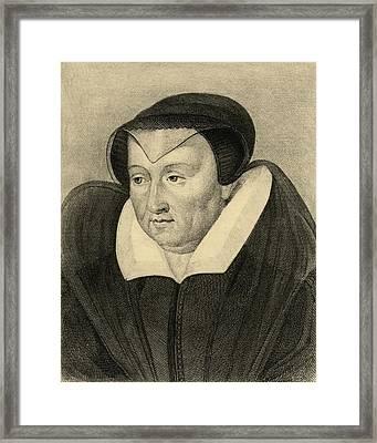 Catherine De Medici, 1519-1589. Born Framed Print by Vintage Design Pics