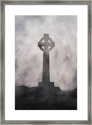 Celtic Cross Framed Print by Joana Kruse