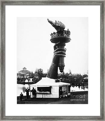 Centennial Fair, 1876 Framed Print by Granger