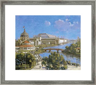 Chicago Columbian Exposition Framed Print by Theodore Robinson