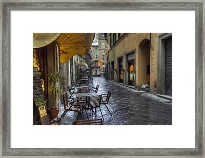 Cortona Tuscany Framed Print by Al Hurley