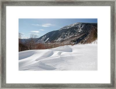 Crawford Notch State Park  - White Mountains New Hampshire  Usa Framed Print by Erin Paul Donovan