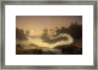 Dancing Fairies Framed Print by Mountain Dreams
