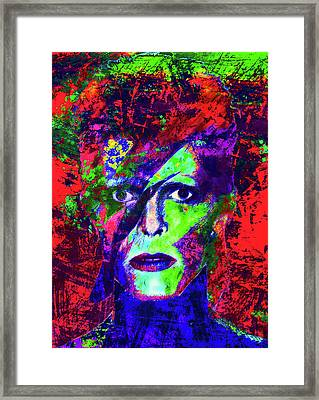 David Bowie Framed Print by Stephen Humphries