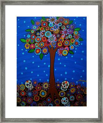 Day Of The Dead Framed Print by Pristine Cartera Turkus