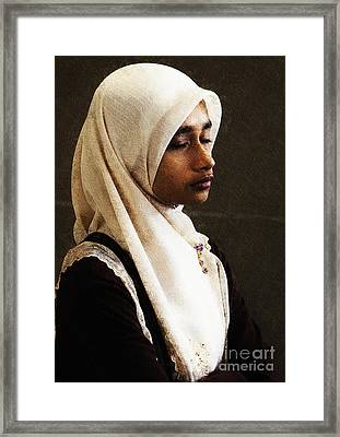 Deep In Thought Framed Print by Avalon Fine Art Photography