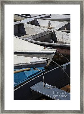 Dories Framed Print by Timothy Johnson