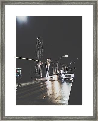 Dubai  Framed Print by Sally Shehata