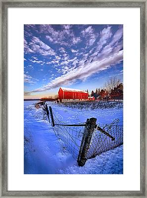 Early To Rise Framed Print by Phil Koch