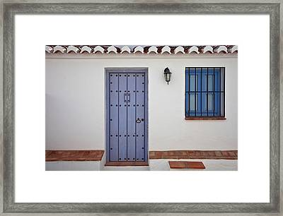 El Acebuchal, The Lost Village Or Ghost Framed Print by Panoramic Images