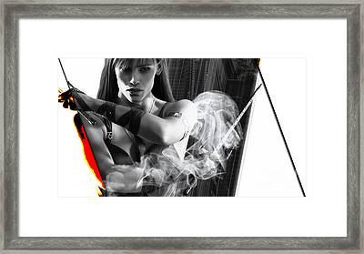 Elektra Collection Framed Print by Marvin Blaine