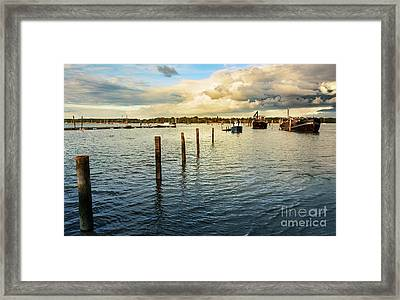 Evening Glow Framed Print by Svetlana Sewell