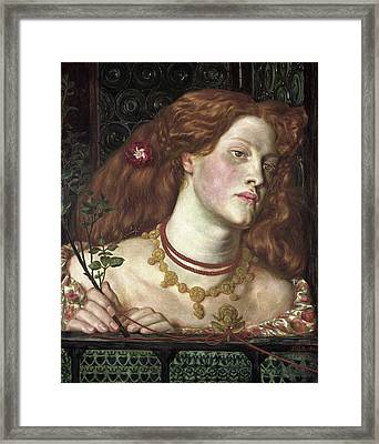 Fair Rosamund Framed Print by Dante Gabriel Rossetti