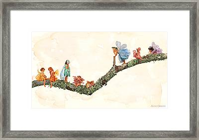Fairies Framed Print by Anne Geddes