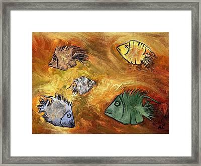 Fish Framed Print by Rafi Talby