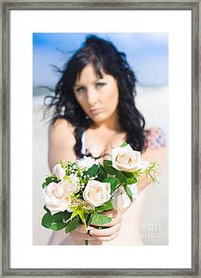 Flower Framed Print by Jorgo Photography - Wall Art Gallery