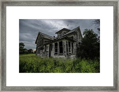 Forgotten Framed Print by Aaron J Groen