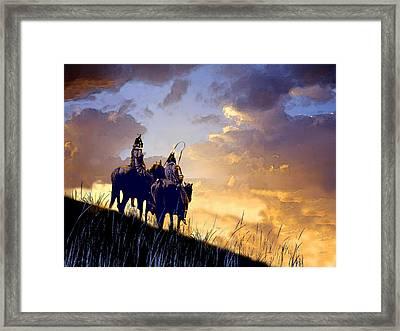 Going Home Framed Print by Paul Sachtleben