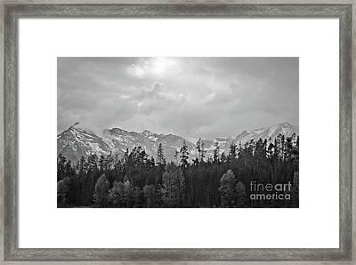 Grand Tetons Framed Print by Brent Parks