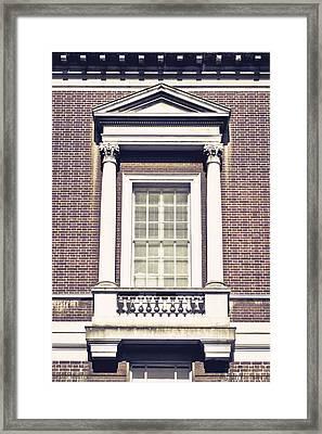 Grand Window Framed Print by Tom Gowanlock