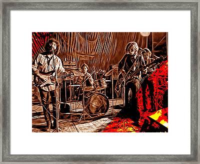 Grateful Dead Collection Framed Print by Marvin Blaine