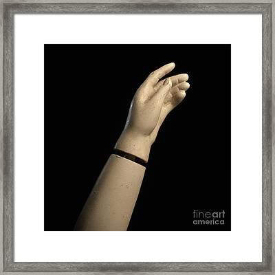 Hand Of Dummy Framed Print by Bernard Jaubert