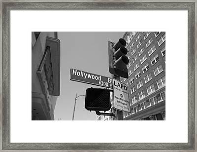 Hollywood Boulevard Framed Print by Mountain Dreams