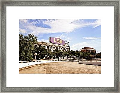 Home Field Advantage Framed Print by Scott Pellegrin