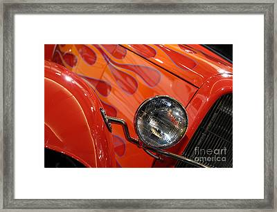 Hot Rod Ford Coupe 1932 Framed Print by Oleksiy Maksymenko