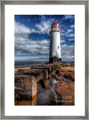 House Of Light Framed Print by Adrian Evans