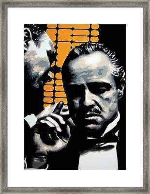 I Want You To Kill Him Framed Print by Luis Ludzska