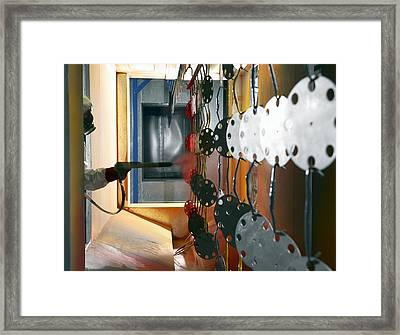 Industrial Powder Coating Framed Print by Mark Sykes