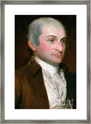 John Jay, American Founding Father Framed Print by Photo Researchers