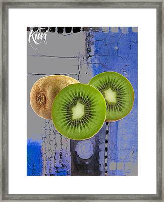 Kiwi Collection Framed Print by Marvin Blaine