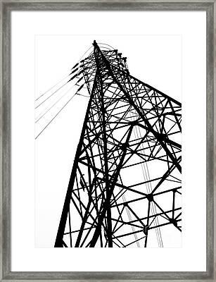 Large Powermast Framed Print by Yali Shi
