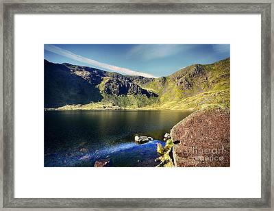 Levers Water Framed Print by Stephen Smith