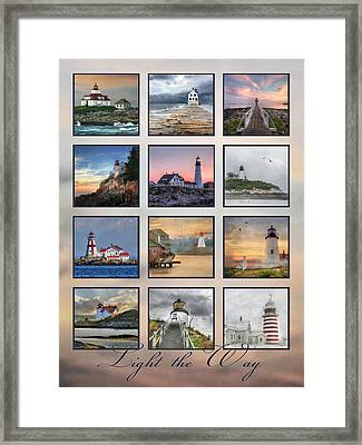 Light The Way Framed Print by Lori Deiter