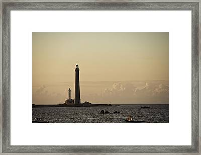 Lighthouse Framed Print by Nailia Schwarz