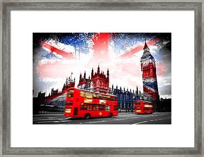 London  Framed Print by Mark Ashkenazi
