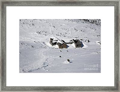 Madison Spring Hut- White Mountains New Hampshire Framed Print by Erin Paul Donovan