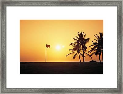 Mauna Kea Beach Resort Framed Print by Carl Shaneff - Printscapes