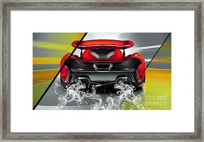 Mclaren P1 Collection Framed Print by Marvin Blaine