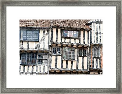 Medieval Building Framed Print by Tom Gowanlock