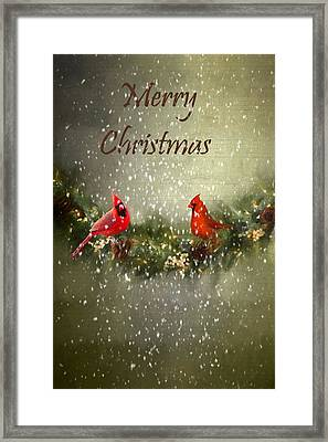 Merry Christmas Framed Print by Darren Fisher
