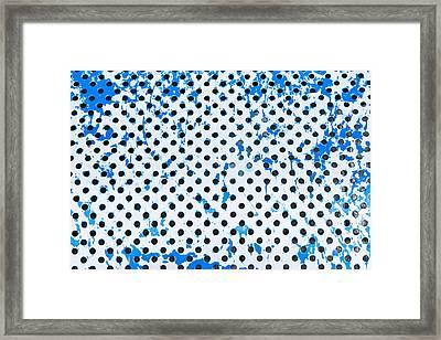 Metal Surface Framed Print by Tom Gowanlock