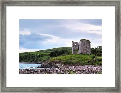 Minard Castle - Ireland Framed Print by Joana Kruse