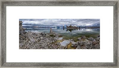 Mono Lake Framed Print by Cat Connor