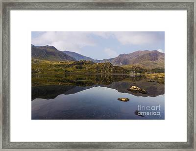 Morning Reflections Framed Print by Ian Mitchell