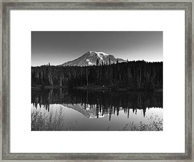 Mount Rainier National Park Framed Print by Brendan Reals